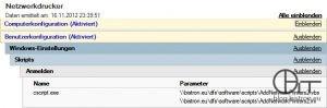 AddNetworkPrinters2 - GPO Benutzer-Anmeldeskript