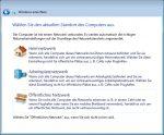 OOBE Windows 7 - 7. Netzwerkeinstellungen