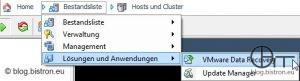 Aufruf VDR-PlugIn im vSphere-Client