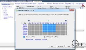 VDR 2.0: Wartungszeitplan konfigurieren
