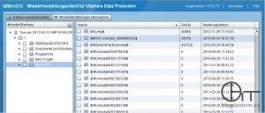 VMware Wiederherstellungsclient für vSphere Data Protection